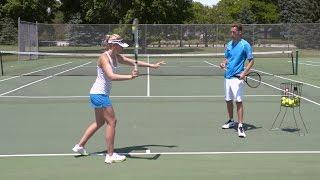Crushing Forehand Power - Tennis Lesson