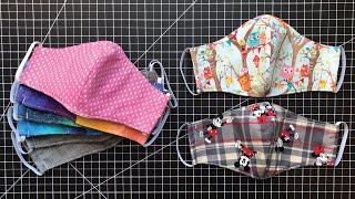 15 Minute Fabric Mask - Metal Nose Bridge & Pocket
