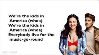 Riverdale Cast 1x11 - Kids in America (Lyrics)(Full Version) by Camila Mendes and Kj Apa