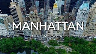 New York - Manhattan - 4K Aerials