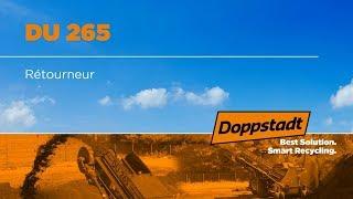Doppstadt DU 265 - Rétourneur - Francais