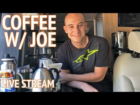 Making Pour Over Coffee With Joe Russo