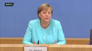 LIVE: Merkel holds her last annual summer press conference in Berlin