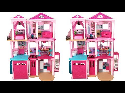 Barbie Dream House 2015 Unboxing Assembly دمية باربي البيت Casa de boneca Barbie