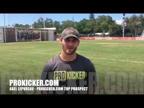 Axel Lepvreau - Ray Guy Prokicker.com Top Prospect