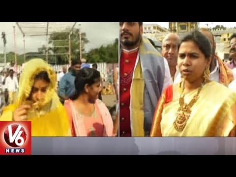 AP Minister Bhuma Akhila Priya Marriage with Bhargav Ram   Kurnool