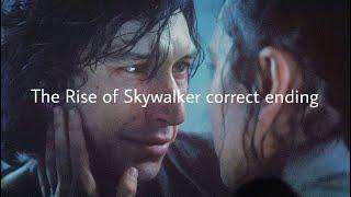 The rise of Skywalker correct ending...