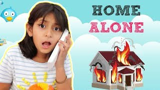 HOME ALONE ... | #Sketch #Fun #Bloopers #Roleplay #MyMissAnand