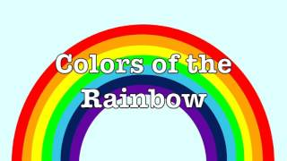 Colors of a Rainbow for kids | What colors are in a rainbow? | How many colors does a rainbow have?
