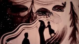 Песочное шоу на свадьбу Валентина и Надежды. Сон с китами