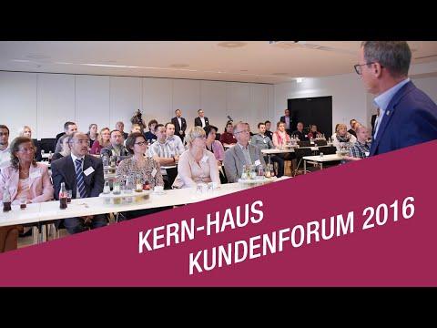 Video zum Kern-Haus-Kundenforum 2016