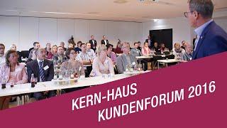 Bereits zum sechsten Mal lud Kern-Haus seine Bauherren zum Kundenforum nach Koblenz ein - mit dem Ziel, die Markenleistung durch das Feedback der Bauherren weiter nach vorne zu entwickeln und begeisterte Kunden zu schaffen.
