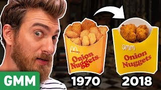 Recreating Discontinued McDonald's Menu Items (TASTE TEST)