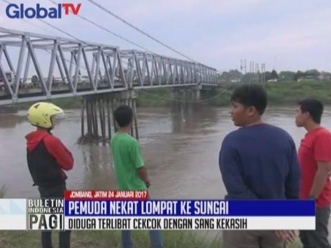 Bertengkar Dengan Pacar, Seorang Pemuda di Jombang Nekat Melompat ke Sungai - BIP 25/01