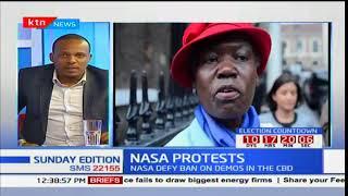 NASA defy Interior CS Fred Matiang'i's directive against anti-IEBC demos: Sunday Edition