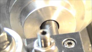 Cutting a Keyway in a Motor Pulley Using a Lathe
