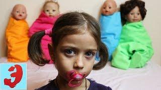 Куда Сбежали все мои Куклы? Где Эмилюша нашла свои игрушки?