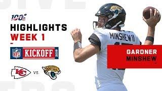Gardner Minshew Steps in for Foles & Lobs 2 TDs | NFL 2019 Highlights