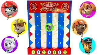 Learn Colors with the Paw Patrol Disk Drop Game Pups Find Vehicles | Fizzy Fun Toys