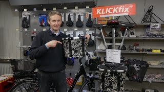 Klickfix accessories for bicycles and e-bikes
