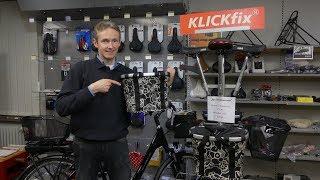 Klickfix Zubehör für Fahrräder und E-Bikes