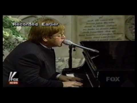 Elton John - Candle in the Wind (Lady Diana's Funeral '97) [ HD ]