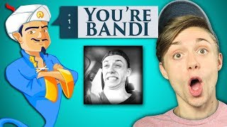 AKINATOR GUESSES MY CHANNEL!?