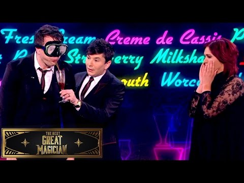 Barry & Stuart Regurgitate an Americano Coffee for Amy Childs | The Next Great Magician