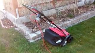 Rasen Lüften und Vertikutieren im Garten mit Produkt Schnäppchen im Test