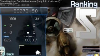 Osu! - CptnXn's account hacked and lovesmacking Airman HD+HR+RX