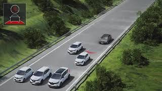Renault Talisman 'Aktif Acil Fren Destek Sistemi'