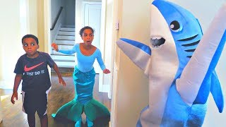 Shark vs Mermaid Shasha and Shiloh - Onyx Kids