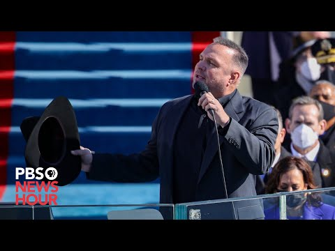 WATCH: Garth Brooks sings 'Amazing Grace' for Biden inauguration