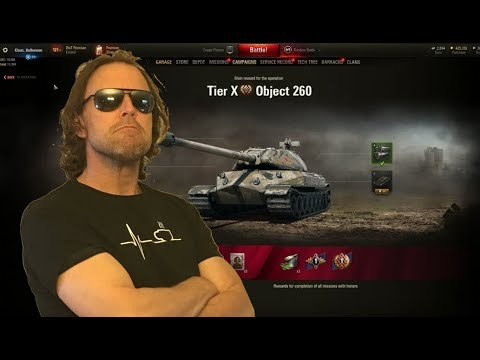 WOT - Mission Impossible Object 260 Let's Try Again Live   World of Tanks