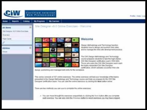 CIW Online Resources - YouTube