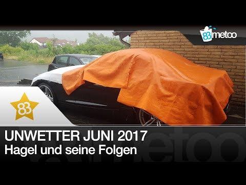 Unwetter 22 Juni 2017 Deutschland | Auto Hagelschutz Decke kaufen? | Unwetter Hamburg Hemer Gießen