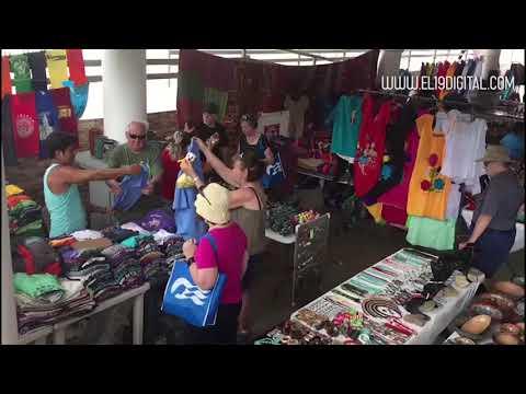 Crucero Island Princess arriba a San Juan del Sur