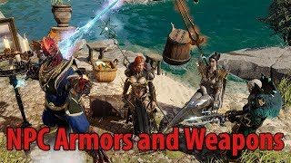 NPC Armors and Weapons