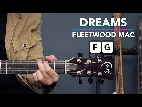 SONG 4 'Dreams' by Fleetwood mac // PLAY 10 SONGS WITH 2 CHORDS (1 BARRE CHORD...)