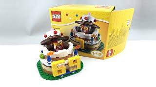 LEGO Birthday Cake Set Review! 40153