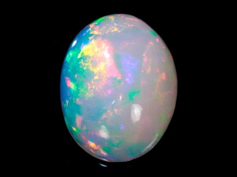 .Welo Opal with White Base 10.12 Carats