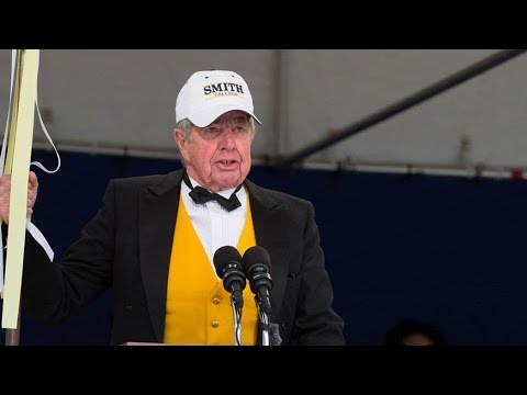 Sheriff Robert Garvey Closes 2016 Smith College Commencent Ceremony