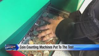 Coin counting machines put to the test