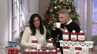 Saxon Chocolates Set Of 5 Hot Chocolate Gifts For Two On QVC