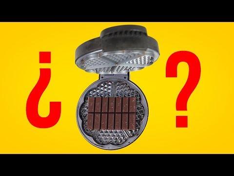 ¿PUEDES METER UNA TABLETA DE CHOCOLATE EN LA GOFRERA?
