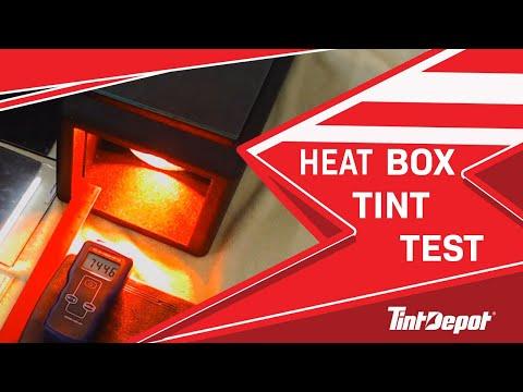Window Film Heat Box Test