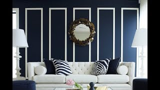 Top 40 Blue Home Decor Colors Ideas Tour 2018 | Best Wall Paint Combination For Living Room Interior
