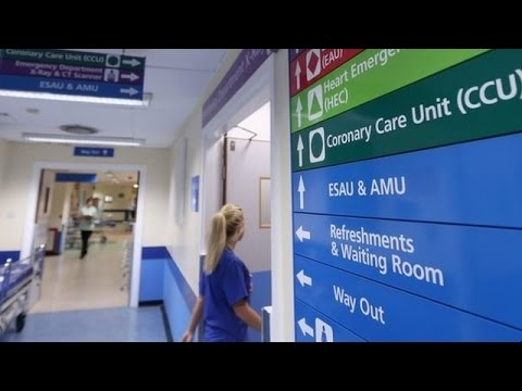 NHS staff strike  'Robust' plans to counter action