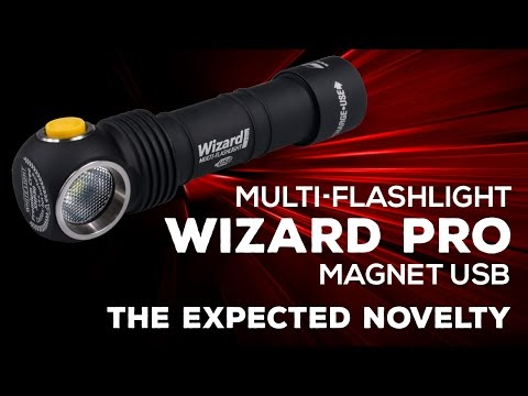 Фенер Armytek Wizard Pro с USB магнитно зареждане