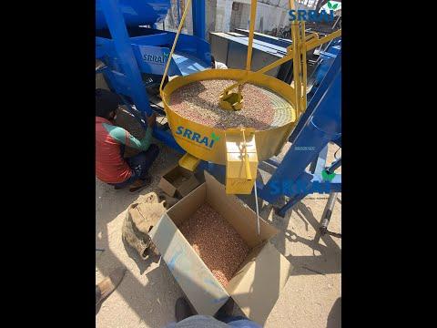Tractor Groundnut Decorticator Machine